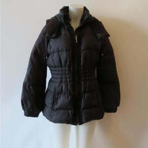 GIRLS JUICY COUTURE BLACK PUFFER  JACKET  XL